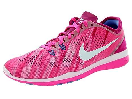Nike , Damen Hallen & Fitnessschuhe rosa