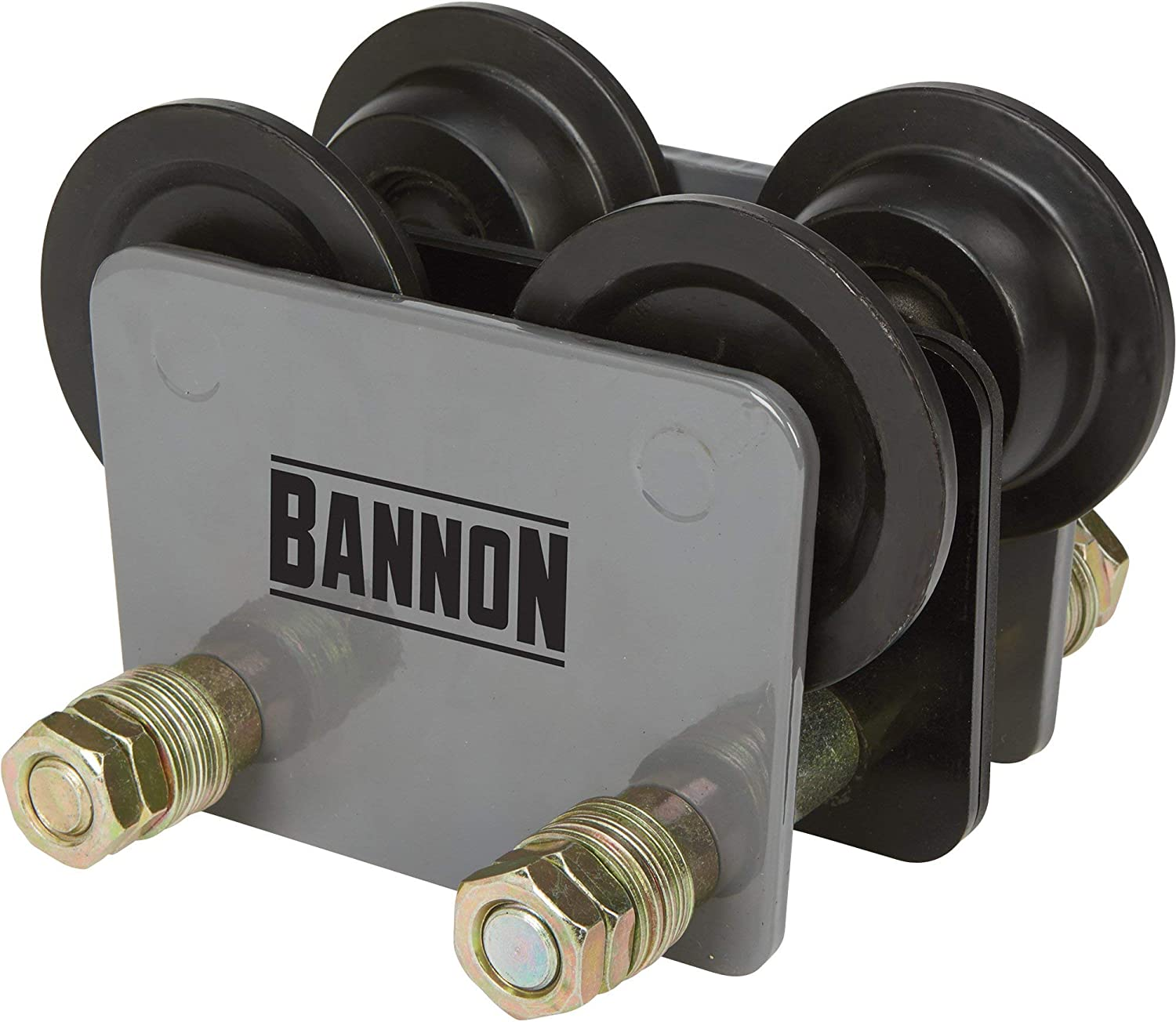 Capacity Works with Bannon Compact Electric Cable Hoists 1100-Lb Plain Trolley