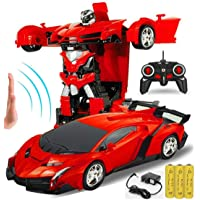 SUPER TOY Transformation Hand Sensor Robot Car RC Toy for Kids