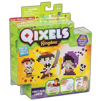 Amazon Com Qixels Kingdom Sorcerer Clash Toys Games