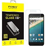 LG FOSO(™) Nexus 5X Pro + 9H Hardness Toughened Tempered Glass Screen Guard Protector
