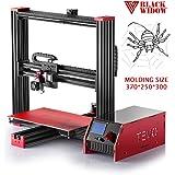 TEVO Black Widow 3D Printer Prusa i3 Variant w/ Huge Print Size & Aluminum Frame