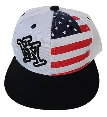 woo2u niños estrellas bandera de béisbol sombreros hip-hop ny ...