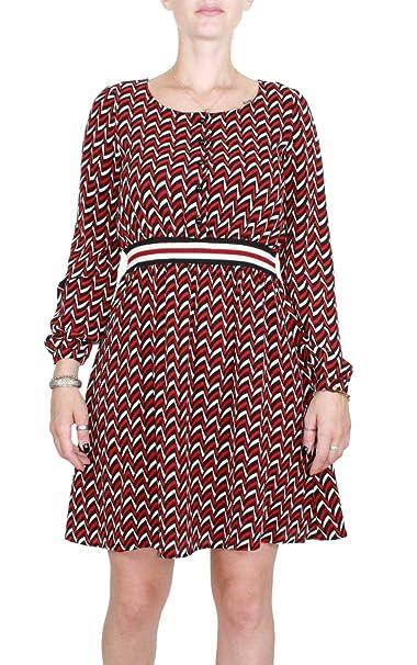 Kocca Abito Hiram Variante F0008 Colore Fantasia Geometrica Rosso e Nero  Autunno-Inverno 2018 19  Amazon.it  Abbigliamento 632bec716d7