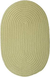 product image for Colonial Mills Boca Raton Braided Polypropylene Celery 5'x8' Oval Rug