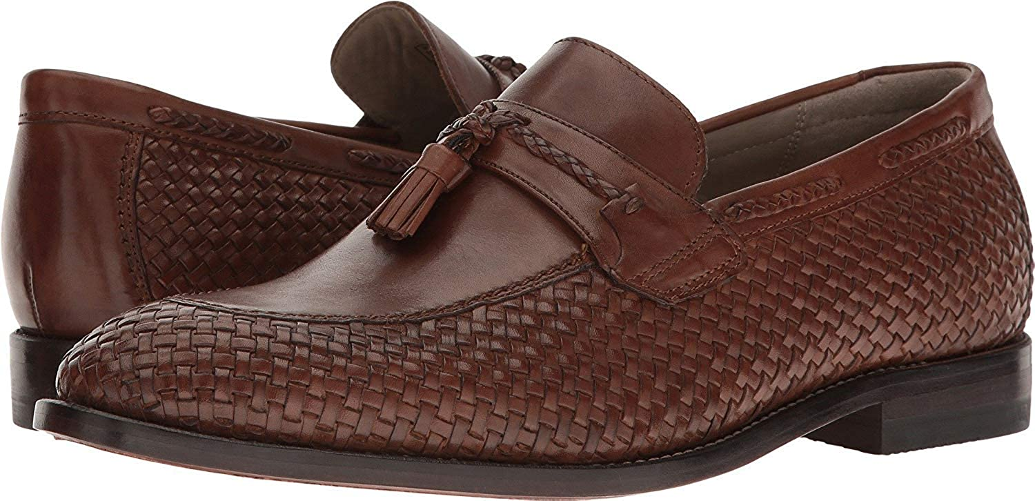 e3bcb9f4c337f Clarks Men's Twinley Free Tan Woven Leather Shoe: Amazon.co.uk ...