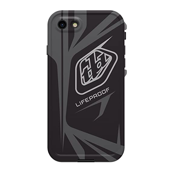 the latest e11f6 6a2e7 Lifeproof FRĒ Series Waterproof Case for iPhone 7 (ONLY) - Retail Packaging  - Troy LEE Design Asphalt (Black/Dark Grey/TLD Grey Graphic)