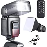 Neewer TT560 Flash Speedlite *Deluxe Kit* for Canon Nikon Sony Panasonic Olympus Fujifilm Pentax Sigma Minolta Leica and Other SLR Cameras and Cameras with Single-contact Hot Shoe