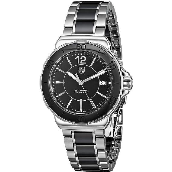 TAG Heuer WAH1210.BA0859 - Reloj para mujeres, correa de acero inoxidable color plateado