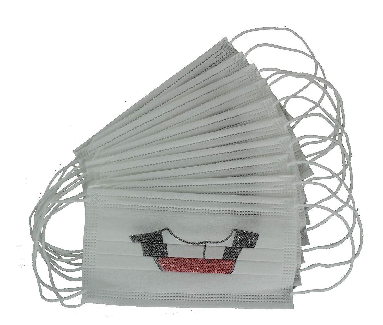 Máscara de protección respiratoria con Trabillas para Las Orejas, Protege contra Virus y Suciedad.