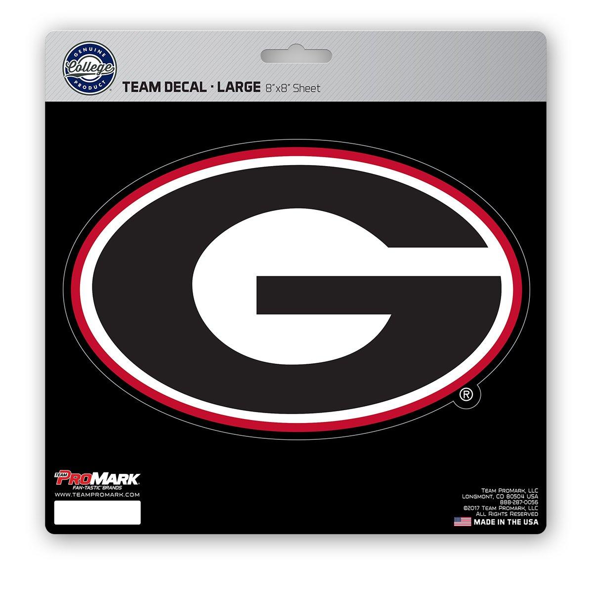 Team Color 8x8 ProMark NCAA Georgia Bulldogs Unisex Georgia Bulldogs Decal Die Cutgeorgia Bulldogs Decal Die Cut