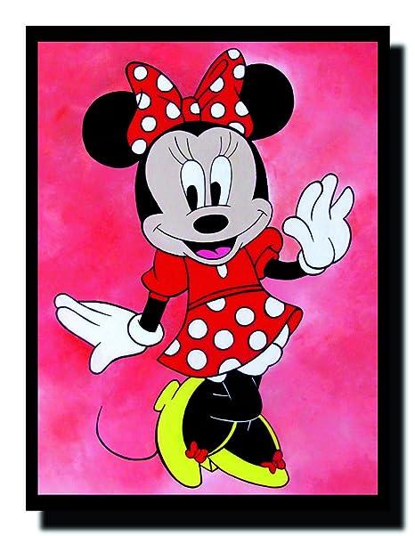 Ravgar Beautiful Minnie Mouse Personaggio Dei Cartoni Animati Per