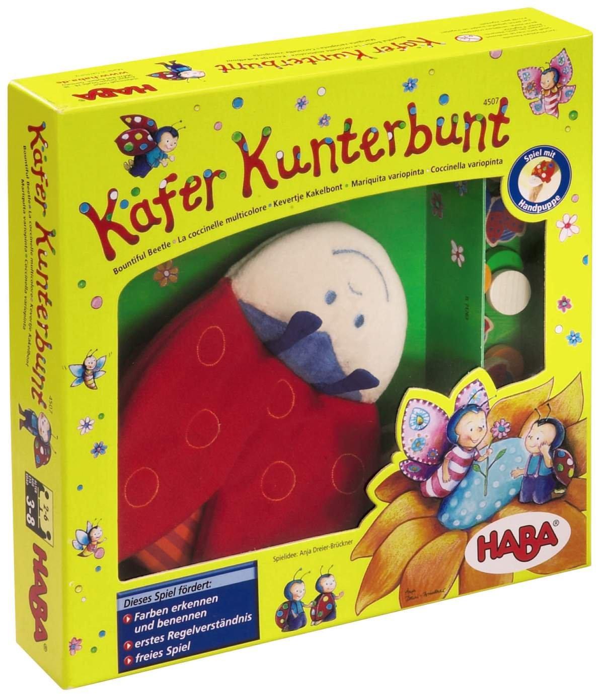 HABA 4507 - Käfer Kunterbunt