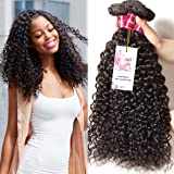 UNice Wholesale Malaysian Virgin Curly Hair Extensions 3 Bundles 7A Grade Unprocessed Virgin Human Hair Weave Extensions Natural Color