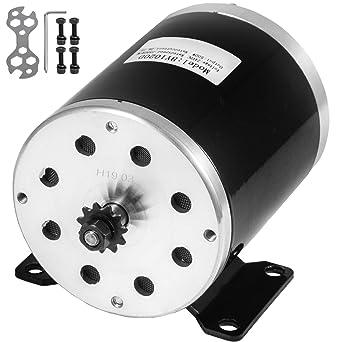 Mophorn Motor Eléctrico de Corriente Continua 500W Motor Eléctrico de CC 24V: Amazon.es: Industria, empresas y ciencia