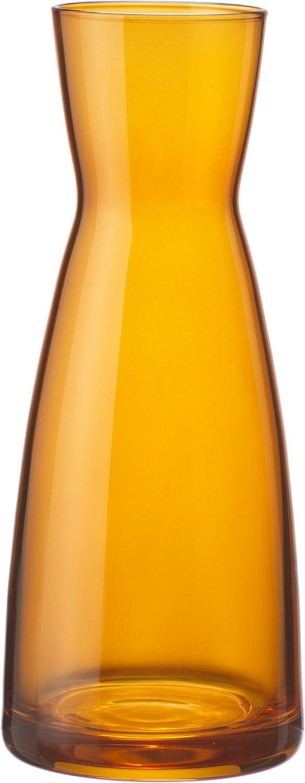 Bormioli Rocco Ypsilon Jug, 18.50-Ounce, Orange