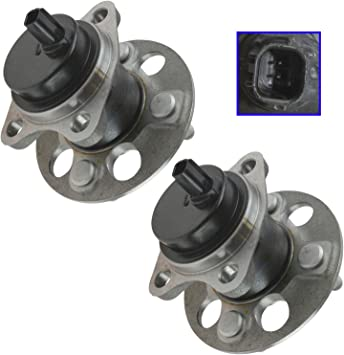 Note: AWD, FWD 2013 fits Cadillac SRX Front Rear Wheel Bearing and Hub Assembly - One Bearing Included with Two Years Warranty