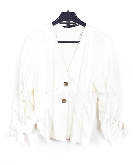 08cc81e8e1 Zara Women Pleated Top 7563/044 (X-Large): Amazon.ca: Clothing ...