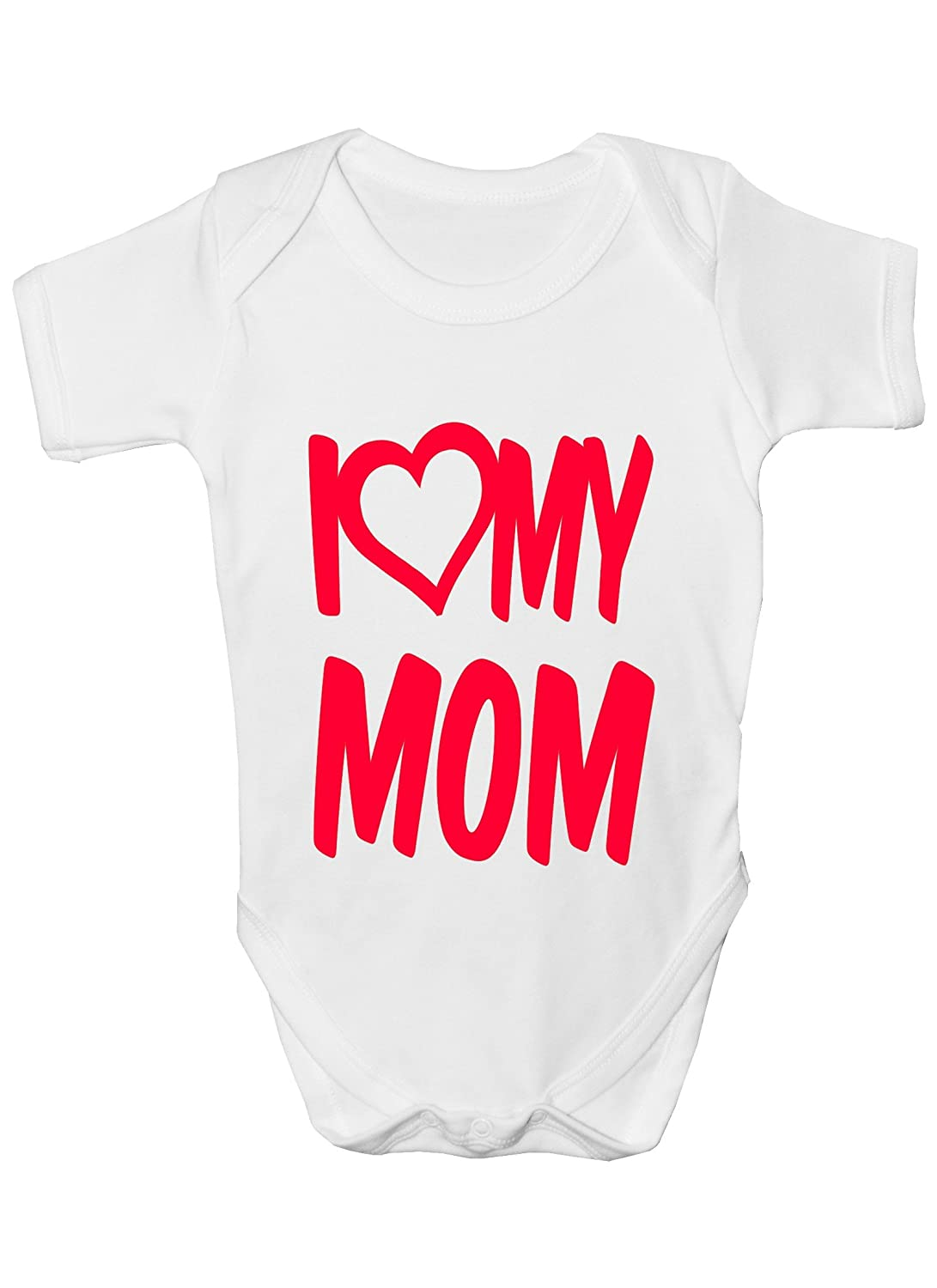 18/ mois I Love My Mom Body Taille
