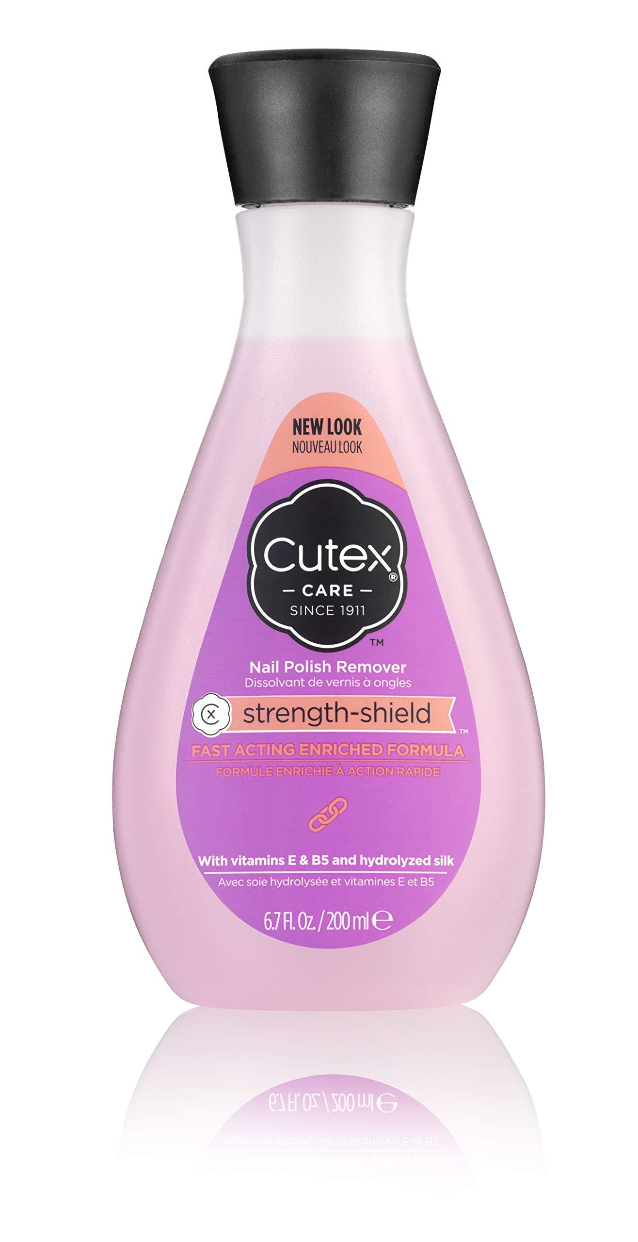 Cutex strength shield Nail Polish Remover 6.76 Fl Oz by Cutex