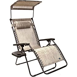 Bliss Hammocks Zero Gravity Chair Sun Shade Canopy