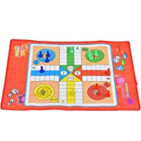 Kinderen Ludo Non-woven Traditionele Slangen Ladders Spelen Kinderen Kinderspeelgoed Ludo Familie Game Board Set
