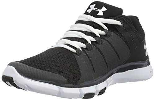 Under Armour Women's Micro G Limitless Training 2 Fitness Shoes, Black  (Black),