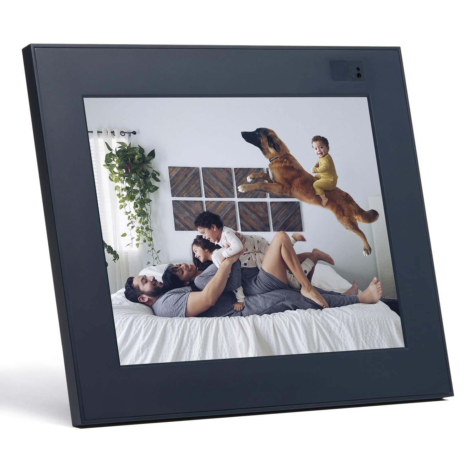 Aura Digital Photo Frame, 10'' HD Display, 2048 x 1536 Resolution with Free Cloud Storage, Oprah's Favorite Things List 2018, Slate WiFi Picture Frame by Aura