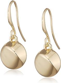 Pilgrim Women Gold Plated Dangle & Drop Earrings - 121742003