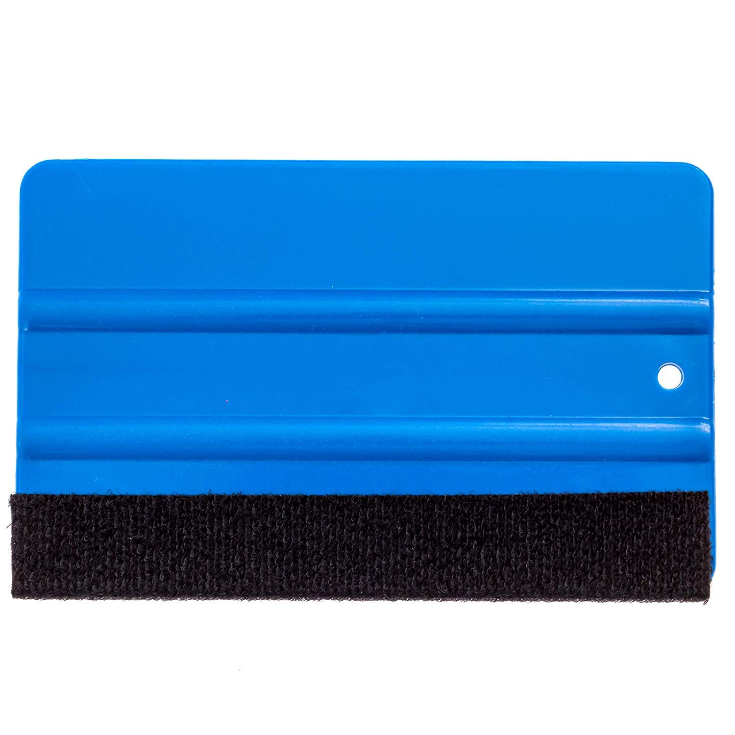 Larger Size for Greater Surface Area and Leverage Felt Edge to Prevent Scratches Gold Label Detailing Vinyl Wrap Large Felt Tipped Squeegee