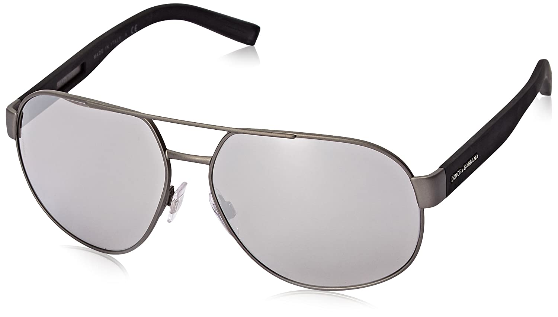 aeccc6e65827 Amazon.com  D G Dolce   Gabbana Mens 0DG2147 Aviator Sunglasses ...