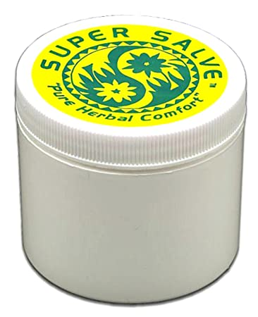 Super Salve 100% natural 6oz. soothing to dry cracked skin