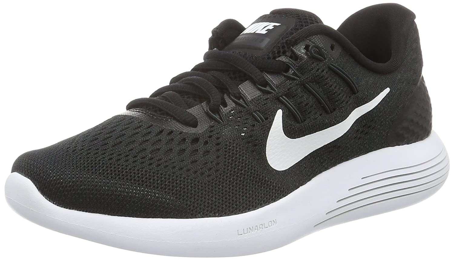Nike Mens Lunarglide 8, Black / White - Anthracite B019DF3HR0 10 D(M) US|Black/White/Anthracite