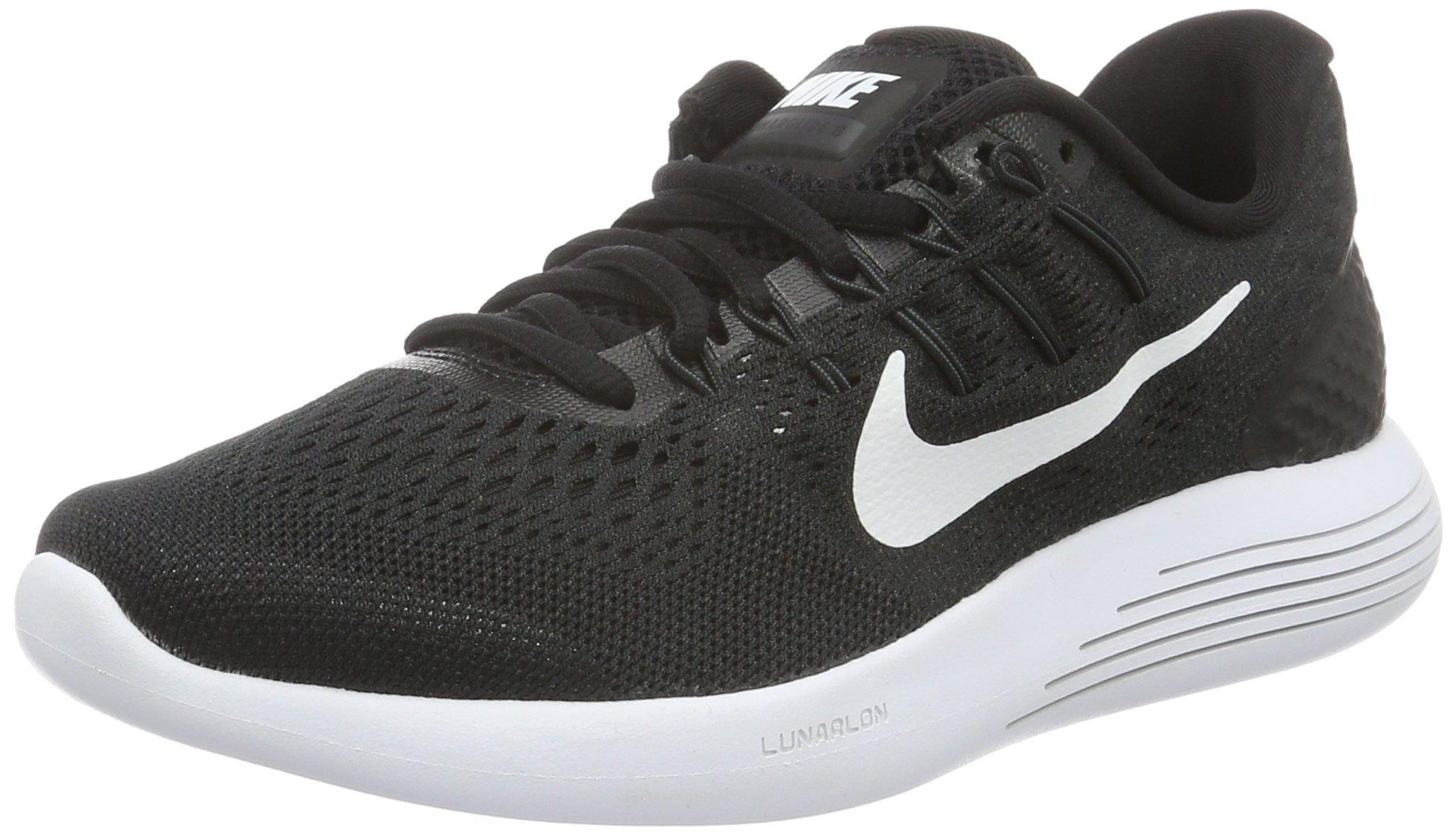 wholesale dealer d22a9 28147 Galleon - Nike Men s Lunarglide 8 Running Shoe Black White Anthracite Size  11.5 M US