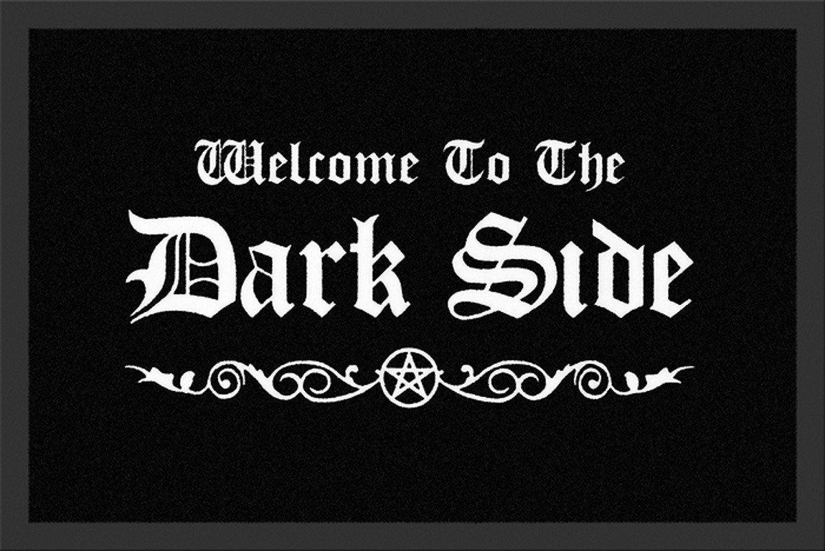 WELCOME TO THE DARK SIDE DOORMAT Merchandise 24/7