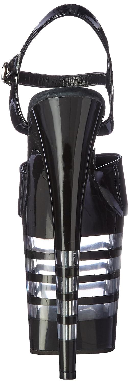 Pleaser B01MR4NCH7 Women's Flam809ln/b/m Platform Sandal B01MR4NCH7 Pleaser 8 B(M) US|Black Patent/Black d58e2c