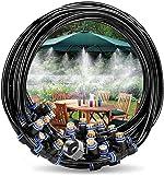 Innoo Tech Misting Cooling System 49.2FT(15M) Misting Line+ 12 Brass Mist