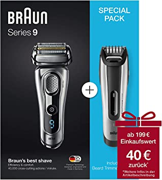 Braun Series 9-9260s + BT 5090 Vorteilspack: Amazon.es: Electrónica