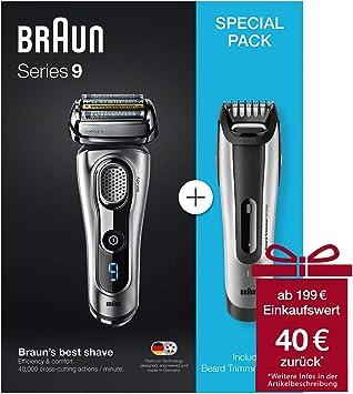 Braun Series 9-9260s + BT 5090 Vorteilspack: Amazon.es: Electrónica