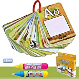Water Colouring Doodle Board-Water Pens Drawing Toy On the Go Water Wow! Reusable Water-Reveal (P)
