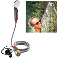 Ivation Portable Camping Shower | Compact Handheld & Hands-Free Rechargeable Outdoor Shower Head & Cleaning System w/ 3…