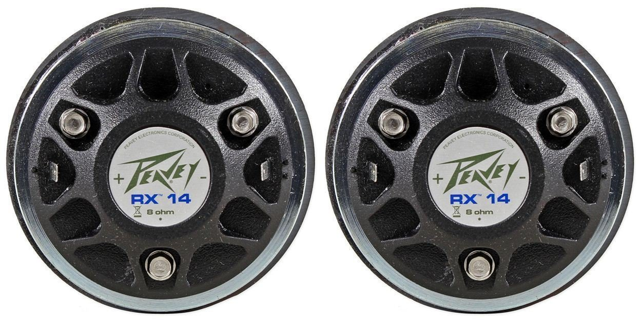 2 Peavey RX14 Professional 1.4'' Professional High Frequency Horn Drivers by Peavey