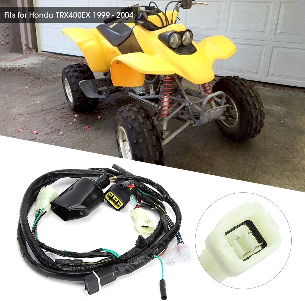 Aramox Motocicleta Mazo de cables Cable de repuesto para ...