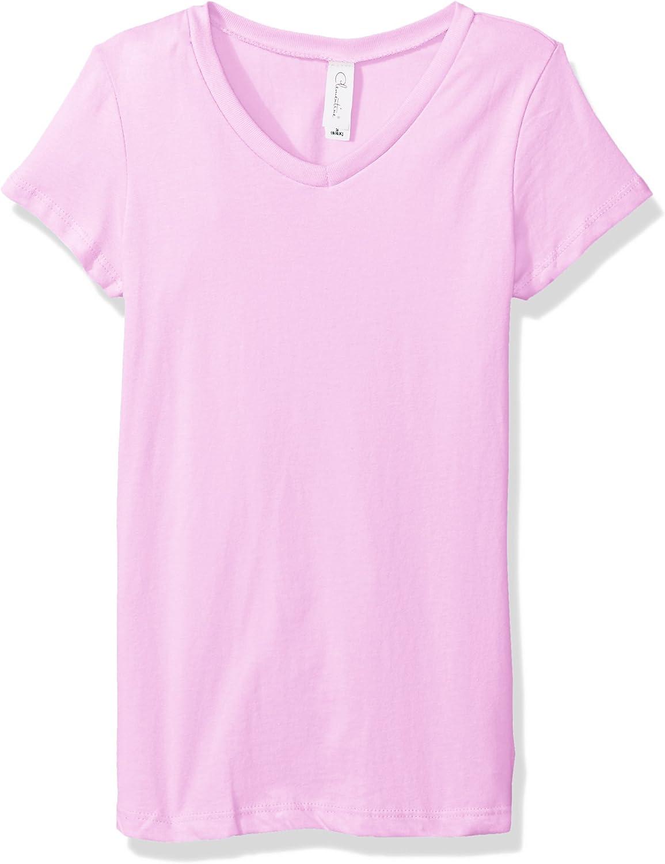 Clementine Girls Everyday Short-Sleeve V-Neck T-Shirt