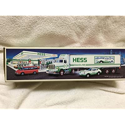 Hess Truck-18 Wheeler and Racer: Toys & Games