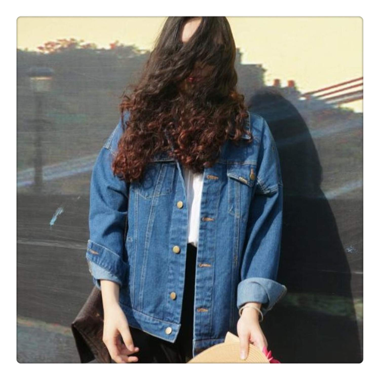 Yyixianma Autumn and Winter Women Denim Jacket New Vintage ...