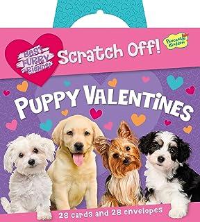 peaceable kingdom puppy love scratch off message 28 card super valentine pack - Grumpy Cat Valentine