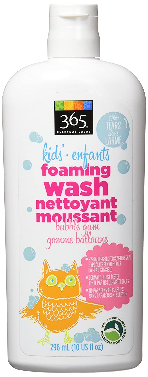 365 Everyday Value Kid's Foaming Wash - Bubblegum, 10 oz Whole Foods Market