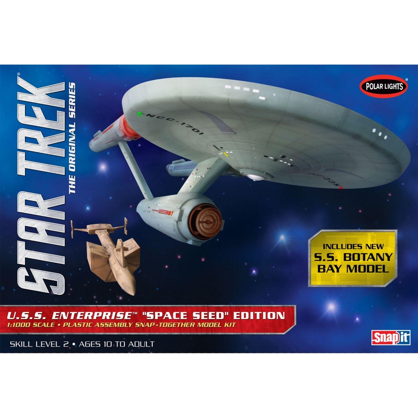 Round2 1/1000 Star Trek TOS USS Enterprise Space Seed Edition POL908