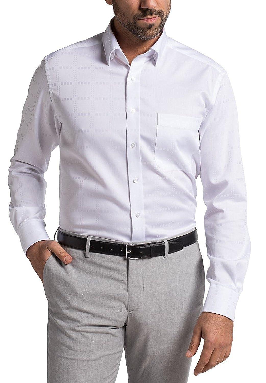 Eterna Camisa Formal - Básico - con Botones - para Hombre